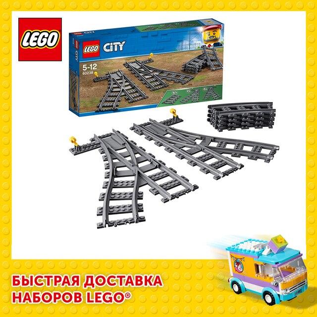 Конструктор LEGO City Trains Железнодорожные стрелки 1