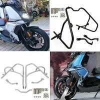 For BMW C400X C400 X 2019 2020 Motorcycle Steel Crash Bar Hignway Engine Guard Stunt Cage Bumper Front Side Frame Protector