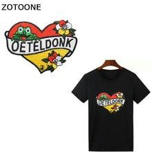 ZOTOONE 1 шт. Oeteldonk DIY нашивки для одежды, Значки для украшения, нашивки для джинсов, сумки для одежды, швейные украшения, аппликация G
