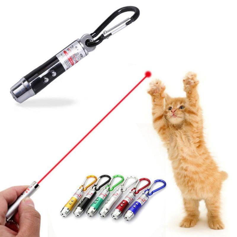 Willekeurige Outdoor Gevaarlijk Survival Guide Pen Drie-In-een Zaklamp Karabijnhaak Mini Ultraviolet Zaklamp Grappige Kat Artefact