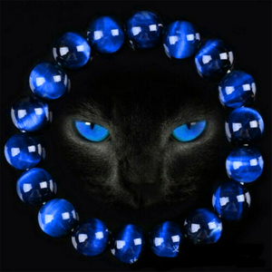 6/8/10/12mm Gorgeous Blue Tiger Eye Bracelets for Men Women Natural Tiger Eye Stone Beads Bracelet Buddha Bracelets Unisex