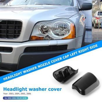 Headlight Washer Cover for Volvo XC90 2002 2003 2004 2005 2006 Durable Automobiles Jet Nozzle Replacement Accessories image