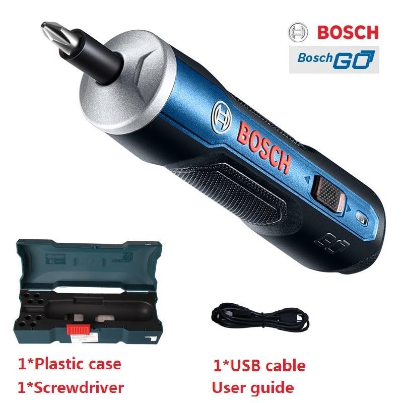 ブランドオリジナル Bosch 行くミニ電動ドライバー 3.6V リチウムイオン電池充電式コードレス電動ドリルビットキット  グループ上の ツール からの 電動ドライバー の中 1