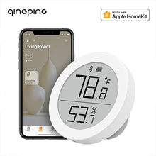 Bluetooth-термометр Qingping, гигрометр, датчик температуры и влажности, поддержка Apple Siri и HomeKit