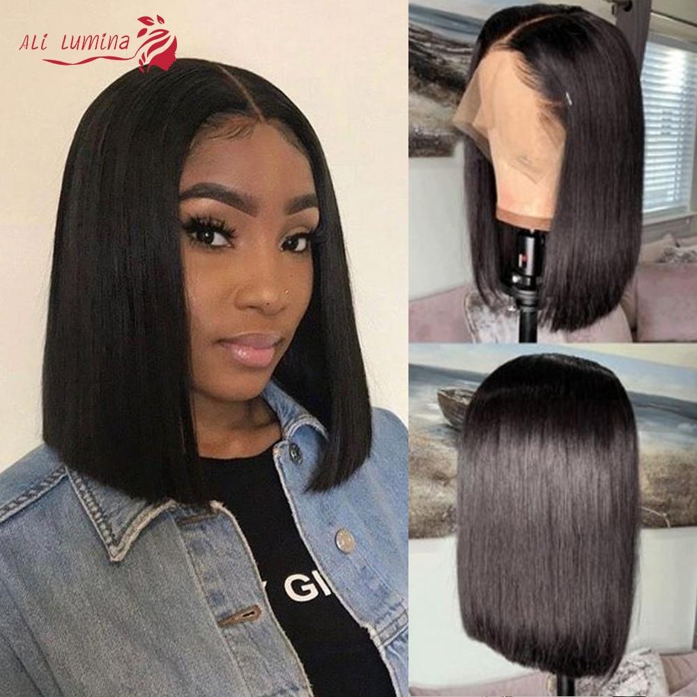Straight Hair 13x4 Lace Frontal Wig Ali Lumina 1