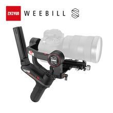 كاميرا ZHIYUN رسمية من weebell S كاميرا Gimbal 3 محاور استقرار نقل الصور لكاميرا عديمة المرآة شاشة عرض OLED المحمولة Gimbals