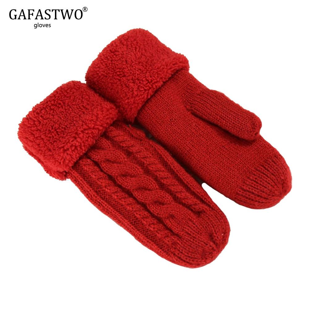 2019 Winter Hot New Trend Thickening Plus Velvet Warm Gloves Fashion Ladies Single Finger Gloves