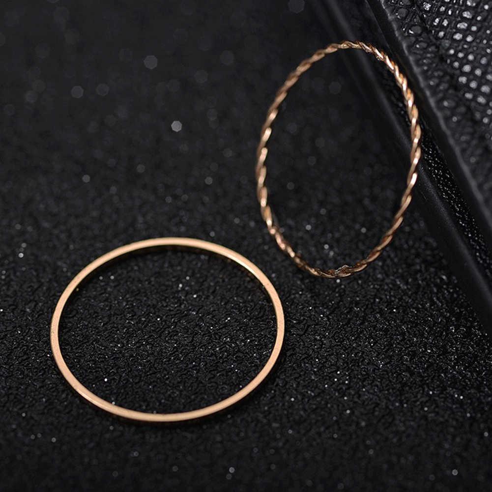ใหม่เกาหลีรุ่นชุดแหวน 10 ชิ้นหญิงบุคลิกภาพผสมง่ายเครื่องประดับขายส่ง