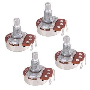 Lovoski 250k Split Lange Welle Gitarre Volumen/Ton Control Potentiometer Topf|Gitarren-Teile und Zubehör|   -