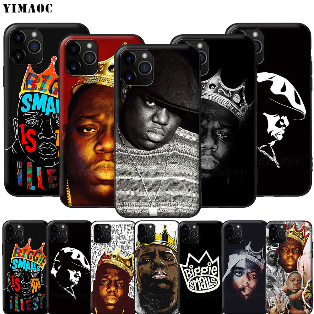 YIMAOC Notorious BIG Biggie Silicone Soft Case voor iPhone 11 Pro XS Max XR X 8 7 6 6S plus 5 5S SE