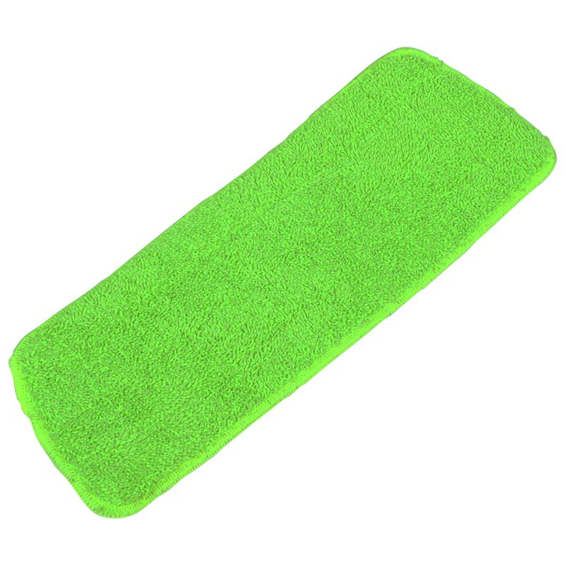 Набор из 3 предметов, сменный коврик для уборки швабры для всех швабры со спреем, моющиеся швабры 40x12 см