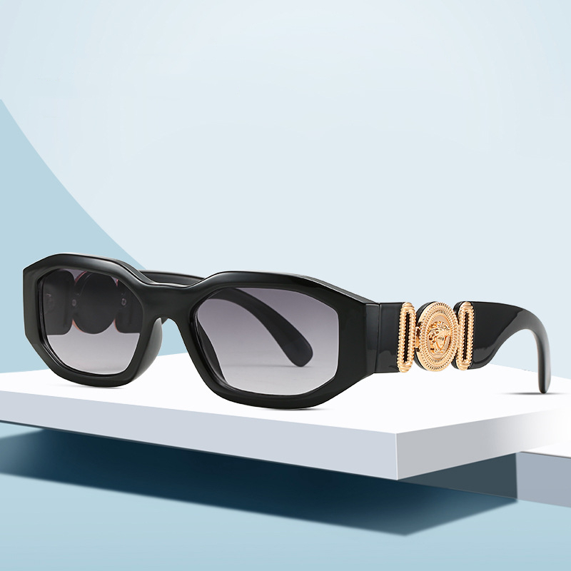 2020 New Fashion Personality Head Sunglasses Irregular Square Small Frame Sunglasses Men And Women Trend Sunglasses
