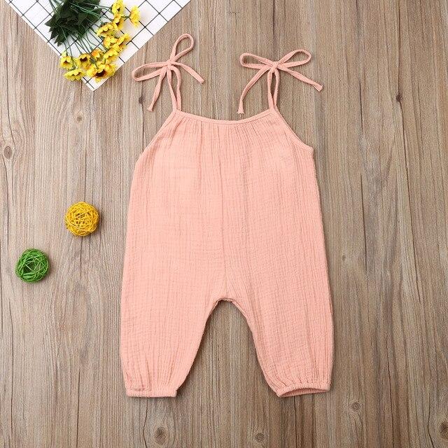 Jumpsuit Baby Warna Pastel  5