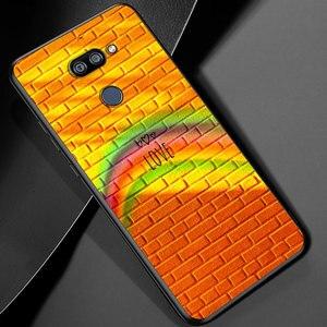 Image 5 - أزياء قوس قزح الفن ل LG K22 K71 K61 K51S K41S K30 K20 2019 Q60 V60 V50 V40 V35 V30 G8 G8S G8X ThinQ جراب هاتف