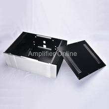 1PCS All aluminum Class A Power Amplifier Chassis BZ4315PASS Large Amplifier Audio Case DIY Box Amp Shell 430*150*300mm AP33