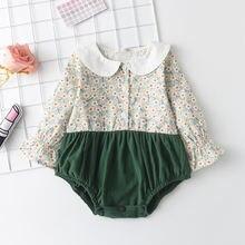 2021 новые осенние комплекты для маленьких девочек одежда комбинезон