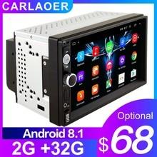 2G RAM 2 الدين راديو السيارة 2Din أندرويد Autoradio مشغل وسائط متعددة لنيسان هيونداي كيا تويتا فورد سوزوكي ميتسوبيشي 1G 16G 32GB