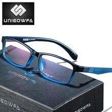 UNIEOWFA-gafas graduadas para hombre y mujer, lentes ópticas fotocromáticas para miopía y hipermetropía, con luz azul