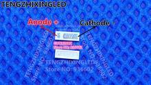 Pour lapplication de rétro éclairage de TV de point quantique rétro éclairage de LED de JUFEI 1W 6V 4014 rétro éclairage bleu pour le moniteur daffichage à cristaux liquides/TV