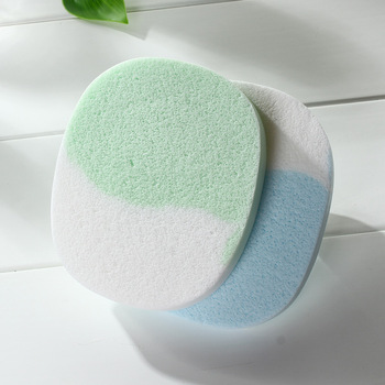 Malian Facial Cleaning Puff Cleaning Face Wash Sponges Cotton Cleaning Sponge Seaweed Cleansing Buff Makeup Puff Cleansing 2 Pie 3