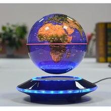 6 Polegada criativo levitação magnética flutuante globo mapa do mundo o melhor desktop decoração natal presente de aniversário da empresa