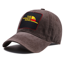 Baseball-Cap One-Piece Washed-Hats Women Summer Cotton Adjustable Hip-Hop Pirate-King