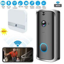 PYMH Wi-Fi беспроводной видеодомофон двусторонний разговор Смарт дверной звонок камеры безопасности