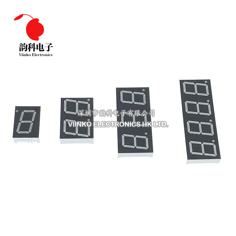 1pc 0.56inch LED display 7 Segment 1 Bit/2 Bit/3 Bit/4 Bit Digit Tube Red Common Cathode - Anode Dig