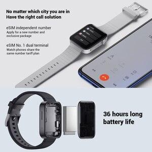 Image 3 - Xiao Mi Mi Smart Horloge Gps Nfc Wifi Esim Telefoontje Armband Horloge Sport Bluetooth Fitness Hartslag Mi Bluetooth horloge