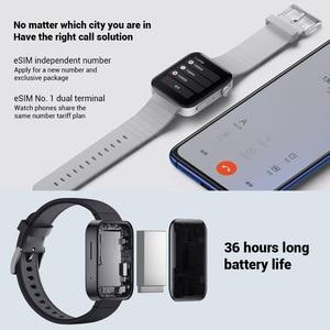 Image 3 - Xiao mi mi relógio inteligente gps nfc wifi esim telefone chamada pulseira relógio de pulso esporte bluetooth fitness freqüência cardíaca mi bluetooth relógio