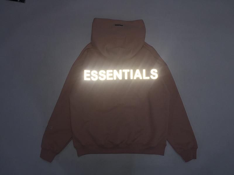 2020 Best Version 1:1 Fog ESSENTIALS Logo Printed Women Men Hoodies Sweatshirts Hiphop Streetwear Men Hoodie Winter Fleeces