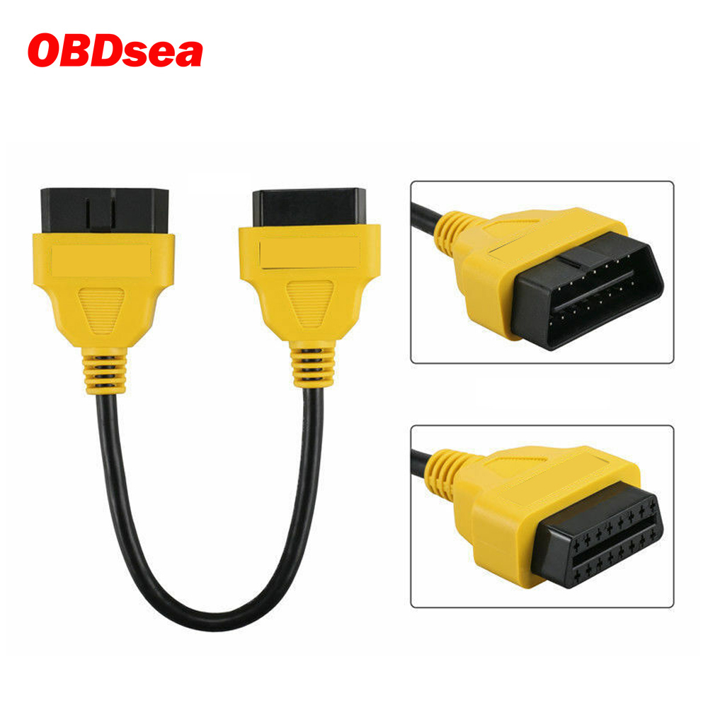 AUTOOL OBD2 Verlängerung Kabel Verlängern Obd2 Stecker OBD Adapter Für Launch IDIAG Easydiag Pro Pro3 V + GOLO Mdiag ELM327 AL519