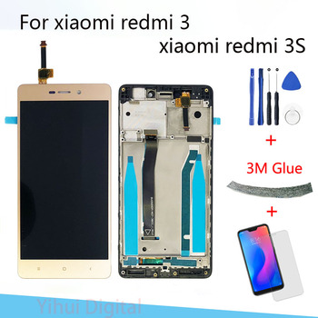 5.0 Inch Original LCD For Xiaomi Redmi 3 Lcd Display Screen Replacement For Redmi 3 3S LCD Digiziter Aseembly AAA Quality