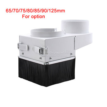 CNC spindle dust cover dust collector 65/70/75/80/85/90/125mm for cnc spindle motor milling machine router tools accessories customized dust cover engraving machine dust cloth dust cover for cnc machine