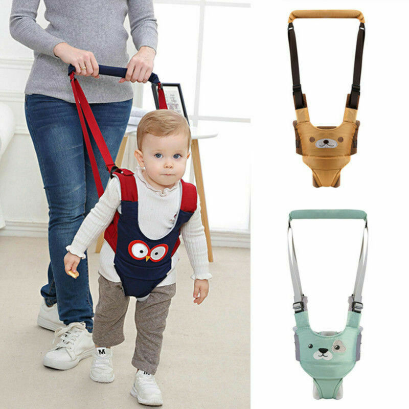 Baby Walker Helper Harness Handheld Assistant Leash Toddler Kid Safe Protective Belt Child Learning Walking Safety Reins