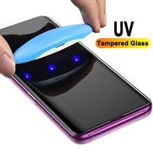 Ультрафиолет закаленное стекло для samsung Note 10 S8 S9 S10 Plus Note 8 9 Nano жидкая Защитная пленка для экрана для samsung S7 S6 Edge