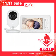4,3 inch Wireless Video Baby Monitor 2 Weg Sprechen Hohe Farbe Auflösung Baby Nanny Sicherheit Kamera VOX Modus Temperatur Überwachung
