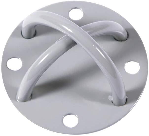 Soporte de pared para techo de acero inoxidable 304 con gancho resistente para colgar en la pared para barco yoga Youliy 304 hamacas 6