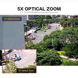 Image 3 - Full HD 1080P 2MP PTZ Tốc Độ Không Dây Dome Camera Ip Wifi Ngoài Trời Camera An Ninh 2.7 13.5 Mm Tự Động tập Trung 5X Zoom SD Thẻ ONVIF P2P