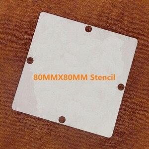 Image 2 - 직접 가열 80*80 90*90 LG8001 LGE8001 BGA 스텐실 템플릿
