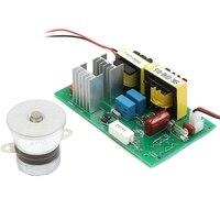 محول تنظيف بالموجات فوق الصوتية الأنظف 110Vac 50 واط 40 كيلو هرتز قرص طاقة مجلس تنظيف محول بالموجات فوق الصوتية الأنظف أجزاء-في منظفات فوق صوتية من الأجهزة المنزلية على