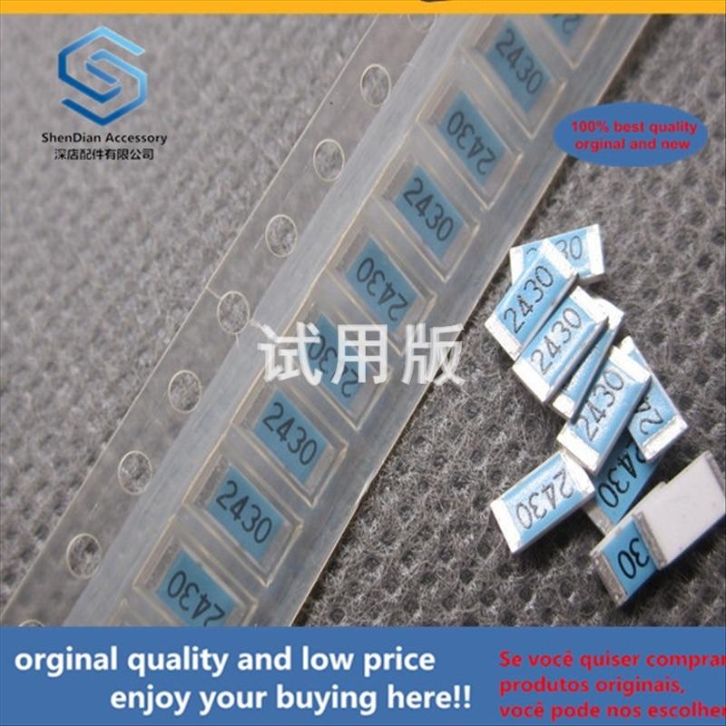 50pcs 100% Orginal New Best Quality SMD Resistor 2010 243R 243 Ohm Printing 2430 1% Precision F 100 Pcs 10 Yuan