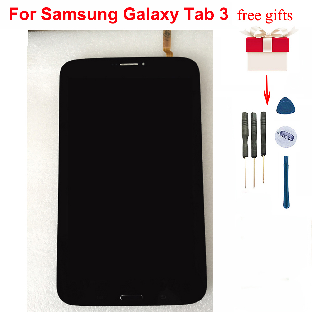 <font><b>LCD</b></font> For <font><b>Samsung</b></font> Galaxy Tab 3 8.0 SM-<font><b>T311</b></font> <font><b>T311</b></font> <font><b>LCD</b></font> Screen Display Panel Touch Screen Sensor Digitizer Assembly with frame image