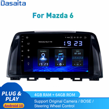 Android 10,0 Auto Radio Für Mazda 6 Multimedia 2013 - 2017 Mazda6 Stereo 2Din Autoradio DSP HD IPS 1280*740 Carplay HDMI 4Gb + 64Gb