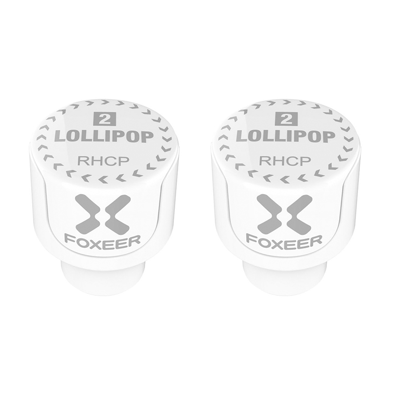 Image 3 - 2PCS Foxeer Lollipop 3 Stubby 5.8GHz 2.5Dbi RHCP/LHCP FPV Mushroom 4.8g  Antenna SMA for FPV RC Racing Drone Models-in Parts & Accessories from Toys & Hobbies