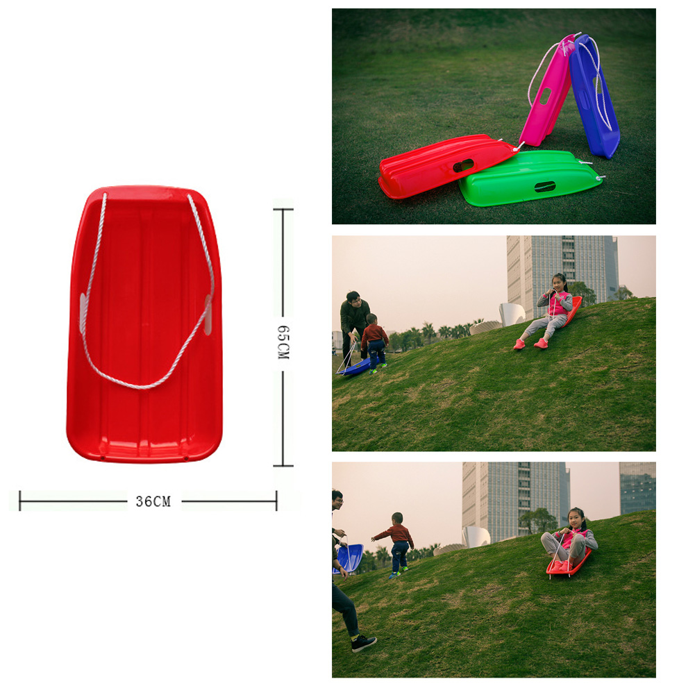 Snow Sled Kids Winter Outdoor Children Grass Skiing Board Games Snow Board Grass Skiing Snowboard For Picnic Outdooesport Play