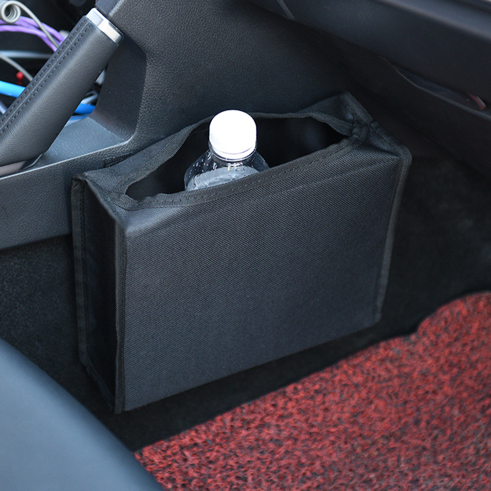 Car Storage Box Car Garbage Bag Barrel Car Trash Portable Drive Bin Hanging Wastebasket Back Seat Can Multi-function Trash Can