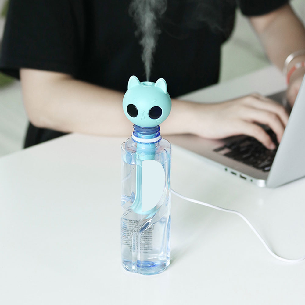 USB Portable Air Humidifier Mist Maker aroma Essential Oil Diffuser Refresher rechargeable For Home and Car