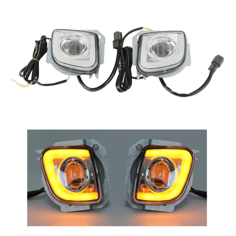 Motorcycle Driving Fog Light Kit For Honda Goldwing GL1800 2012-2017 F6B 2013-2017 Valkyrie 1800 2014-2015