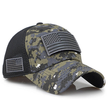 tactical camouflage baseball caps men's summer mesh military
